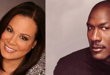 Juanita Vanoy & Michael Jordan