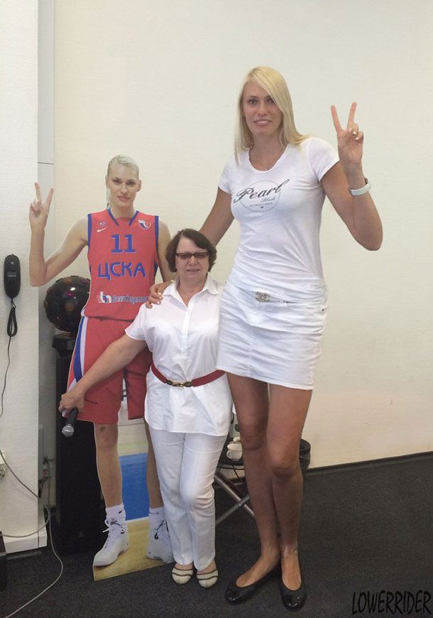 10 Tallest Women Of All Times - Yorkfeed