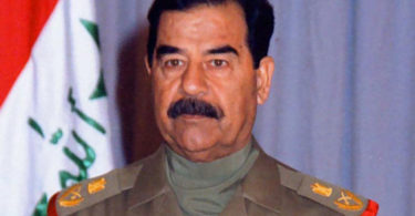 Saddam Hussein - notorious dictators