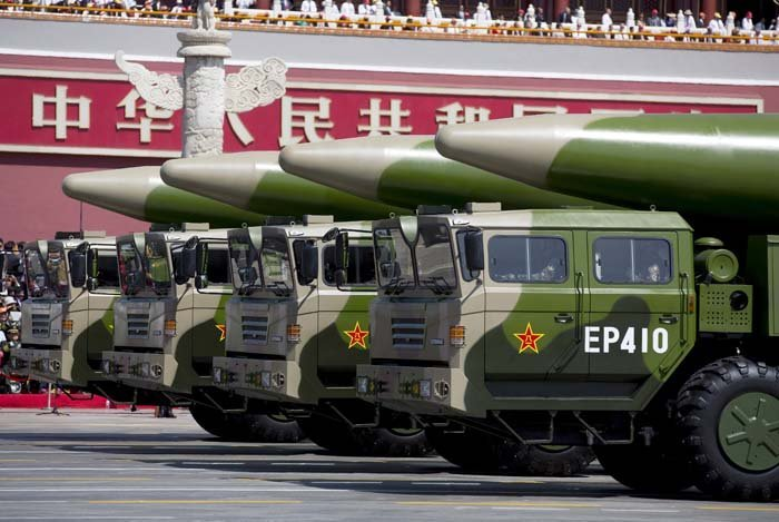 China nuclear weapon - strongest nuclear power countries