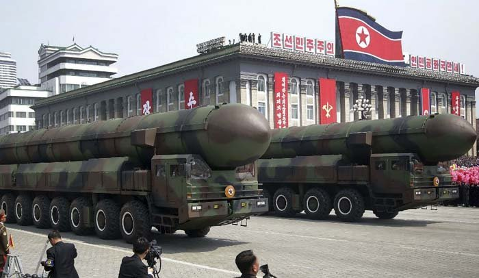 North Korea nuclear weapon - strongest nuclear power countries