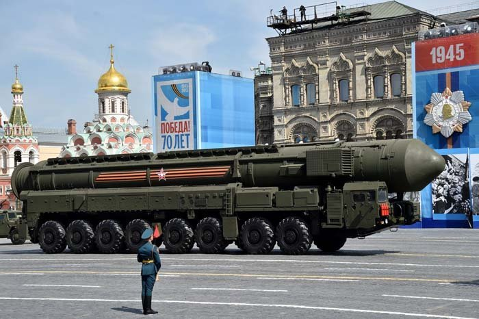 Russia nuclear weapon - strongest nuclear power countries